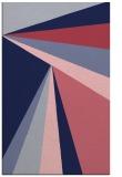 rug #704901 |  blue-violet stripes rug