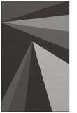 rug #705009 |  orange graphic rug