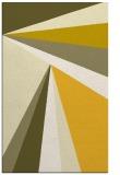 rug #705097 |  yellow graphic rug