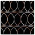 rug #705873 | square black circles rug