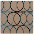 rug #705883   square retro rug