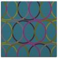 rug #705929 | square blue-green rug