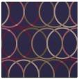 rug #705973   square blue-violet circles rug