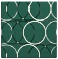 rug #705997 | square green retro rug