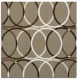 rug #706005 | square white circles rug