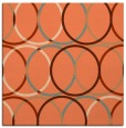rug #706065 | square red-orange circles rug