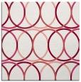 rug #706088 | square circles rug