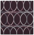 rug #706101 | square purple circles rug
