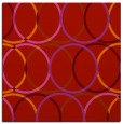 rug #706117 | square red circles rug