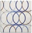 rug #706145 | square white retro rug