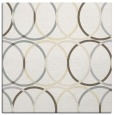rug #706149 | square white geometry rug