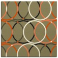 rug #706175 | square circles rug