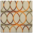 rug #706181 | square beige circles rug