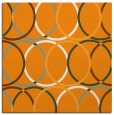 rug #706209 | square light-orange retro rug