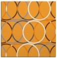 rug #706213 | square light-orange circles rug