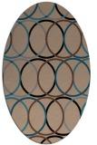 rug #706235 | oval popular rug