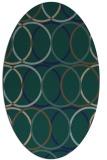 rug #706251 | oval circles rug