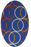 its a round rug - product 706262