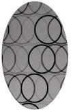 rug #706389 | oval circles rug