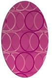 rug #706426 | oval geometry rug