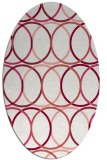rug #706440 | oval circles rug