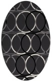 rug #706491 | oval circles rug