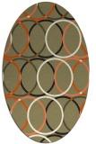 rug #706527 | oval circles rug