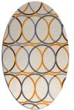 rug #706568 | oval circles rug