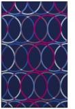 rug #706597 |  pink geometry rug