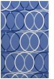 rug #706609    blue circles rug