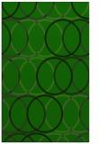 rug #706637 |  green retro rug