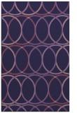 rug #706665 |  purple geometry rug