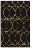 rug #706685 |  mid-brown retro rug