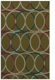 rug #706689 |  brown retro rug