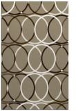 rug #706709 |  mid-brown retro rug