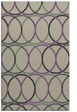 rug #706749    purple retro rug