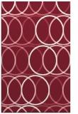 rug #706781 |  pink circles rug