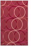 rug #706785 |  pink circles rug
