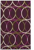 rug #706797 |  green circles rug