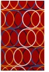 rug #706809 |  red circles rug