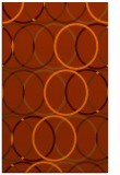 rug #706825 |  red-orange geometry rug