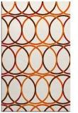 rug #706837 |  red-orange popular rug