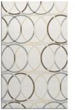rug #706853 |  white retro rug