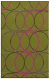 rug #706897 |  light-green circles rug