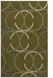rug #706901    light-green circles rug