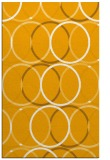 rug #706905 |  light-orange circles rug