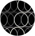 rug #706925   round black circles rug