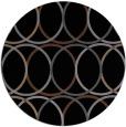 rug #706929   round black circles rug