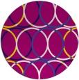 rug #707024   round retro rug