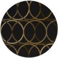 rug #707037   round black popular rug